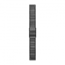 Garmin QuickFit® 22 Watch Bands, Slate Gray Stainless Steel