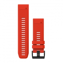 Garmin QuickFit® 26 Watch Bands, Flame Red Silicone by Garmin in Garmisch Partenkirchen Bayern