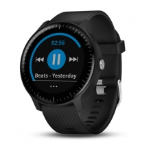 Garmin vívoactive® 3 Music, Black with Stainless Hardware by Garmin in Fairfield Ct