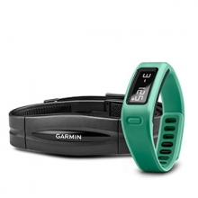 Garmin vívofit®, Teal, With Heart Rate Monitor by Garmin