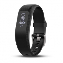 Garmin vívosmart® 3, Black, Small/Medium by Garmin in Red Deer Ab