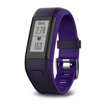 Garmin vívosmart® HR+, Imperial Purple/Kona Purple by Garmin