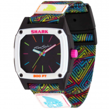 Shark Classic Analog Clip Since 81' Kaleidoscope by Freestyle Watches