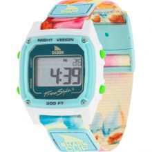 Sage Erickson Shark Classic Clip Flower Power by Freestyle Watches
