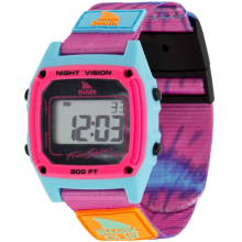 Shark Classic Clip Tie-Dye Pink Splash by Freestyle Watches