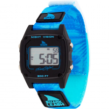 Shark Classic Leash Aloha Blue Palms** by Freestyle Watches in Squamish BC