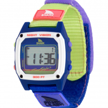 Shark Classic Leash Blueberry Lime by Freestyle Watches