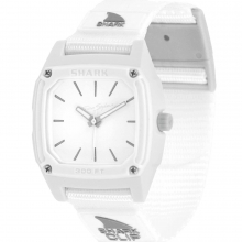 Shark Classic Clip Analog White Water by Freestyle Watches in Squamish BC