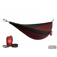 Double Parachute Nylon Hammock with Straps by Grand Trunk in Littleton CO