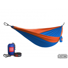 Double Parachute Nylon Hammock with Straps by Grand Trunk