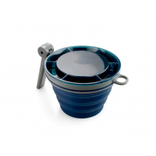 Collapsible Fairshare Mug- Blue by GSI Outdoors