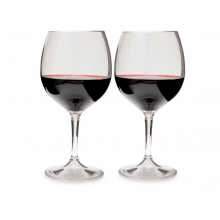 Nesting Red Wine Glass Set