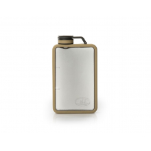 Boulder Flask 6 Oz Sand by GSI Outdoors