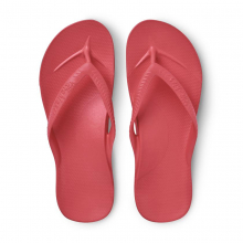 Arch Support Flip Flops - Coral