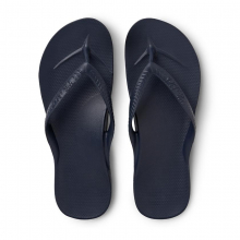 Arch Support Flip Flops - Navy by Archies