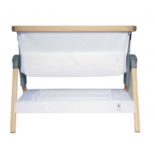 California Dreaming Portable Crib White Wood