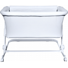 Sunset Dreaming Portable Bassinet - White