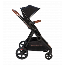 Maverick Single to Double Stroller - Eclipse (Black)