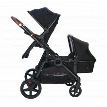 Maverick Combo Package with Bassinet - Eclipse (Black)