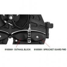 Sprocket Guard Fwd (Inj/Mld)