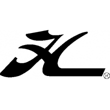 """Decal Bow - Flying """"H"""" Blk by Hobie"""