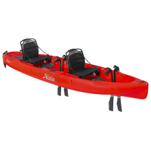 2018 Hobie Mirage Outfitter in Red Hibiscus by Hobie in Ponderay Id