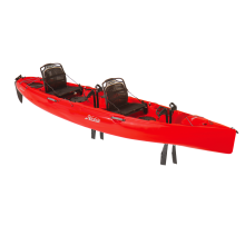 2018 Hobie Mirage Oasis in Red Hibiscus by Hobie in East Lansing Mi