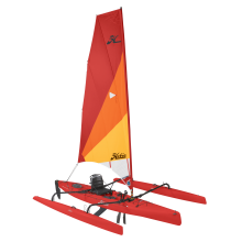 2018 Hobie Mirage Adventure Island in Dune in Red Hibiscus by Hobie in Evanston Il