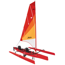 2018 Hobie Mirage Tandem Island in Red Hibiscus by Hobie in Milford Oh