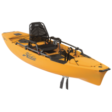2018 Hobie Mirage Pro Angler 12 in Papaya by Hobie in Milford Oh