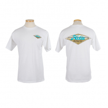 Diamond Wht Mens S/S T L by Hobie