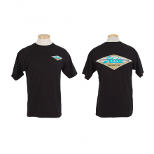 Diamond Blk Mens S/S T L by Hobie
