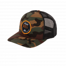 Bos Hat,Rtro Trkr Grn/Blk Camo by Hobie