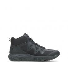 Men's Rush Mid - Black by Bates Footwear