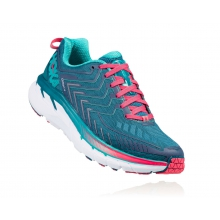 Women's Clifton 4 Wide by HOKA ONE ONE in Boston Ma