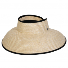 Hamptons Wheat Visor by Conner Hats