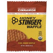 Gluten Free Organic Waffles - 1 oz Waffle Box of 16 - Cinammon by Honey Stinger in Colorado Springs CO