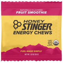 Organic Energy Chews - 1.8 oz Bag Fruit Smoothie by Honey Stinger in Colorado Springs CO