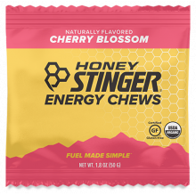 Energy Chews - 1.8 oz Bag Box of 12- Cherry Blossom by Honey Stinger in Alamosa CO