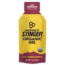 Organic Energy Gels - 1 oz Pack Box of 24 - Acai Pomegranate by Honey Stinger in Colorado Springs CO