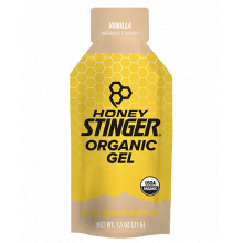 Organic Energy Gels - 1 oz Pack Box of 24 - Vanilla by Honey Stinger in Alamosa CO
