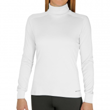 Women's Peach Solid T-Neck by Hot Chillys
