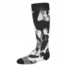 Kid's Tex Camo Mid Vol Sock by Hot Chillys in Bakersfield CA