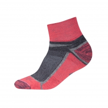 Quarter Crew Sock by Ibex in Durango Co