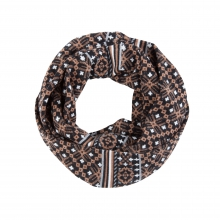Women's Fairisle Infinity Scarf by Ibex
