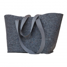 Unisex Reclaimed Wool Felt Tote by Ibex