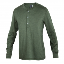 Men's OD Henley Long Sleeve by Ibex