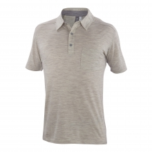 Men's OD Heather Polo by Ibex in Fort Collins Co