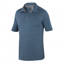 Men's OD Heather Polo by Ibex in Evanston Il