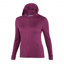 Women's VT Hooded Full Zip by Ibex in Missoula Mt